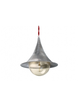 ByLight Trombone Raw Steel Lamp