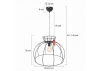 Crinoline Lamp