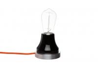 Lampka Lumica: Czarna Ceramika i Aluminium