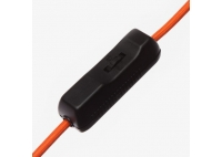 Lumica Lamp: Black & Aluminium