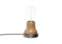 Lampka Lumica: Drewno i Stal