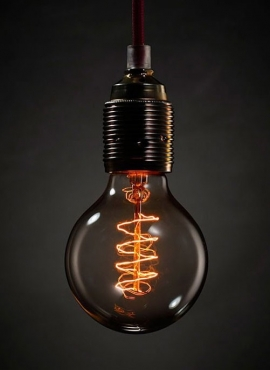 Mini Spiral Sphere Decorative Light Bulb