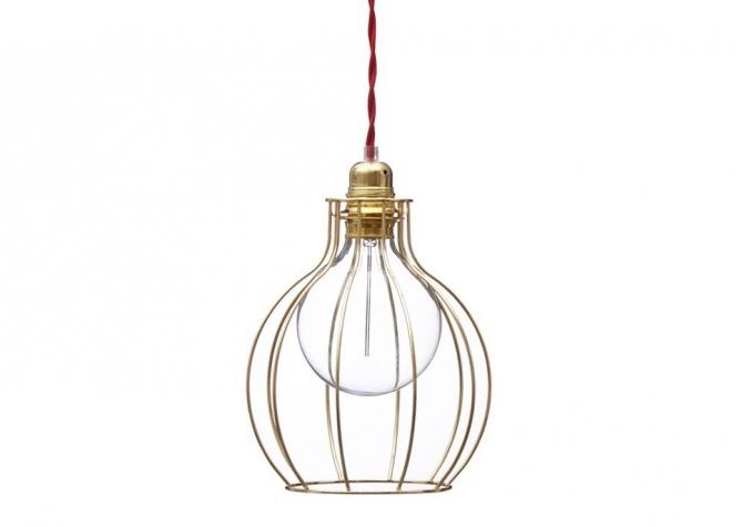 Lampa z klatką W2 -