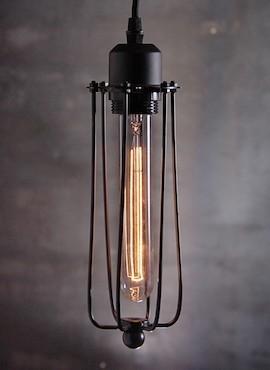 Lampa z klatką Long
