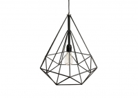 Lampa Diamond Black