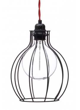 Cage Lamp W2 - Black
