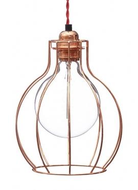 Cage Lamp W2 - Copper