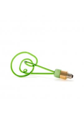 Żarówka Twist - Zielona