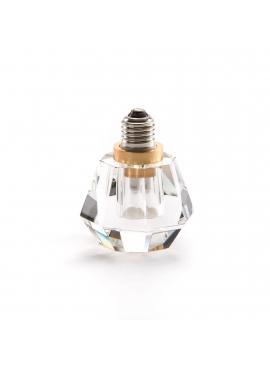 Crystaled Spot Lightbulb - Transparent