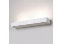 Kinkiet Prostokątny Ceramiczny Biały - duży