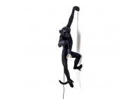 Monkey Lamp Black - kinkiet ścienny