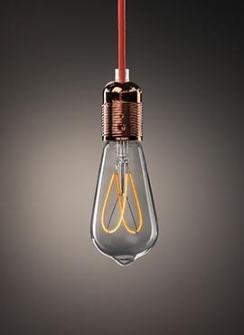 Żarówka Dekoracyjna Edison Spiral LED