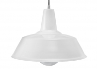 White Blues Loft Lamp