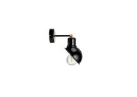 Wall Loft Lamp T55 Black