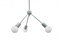 Grey Trio Hanging Lamp