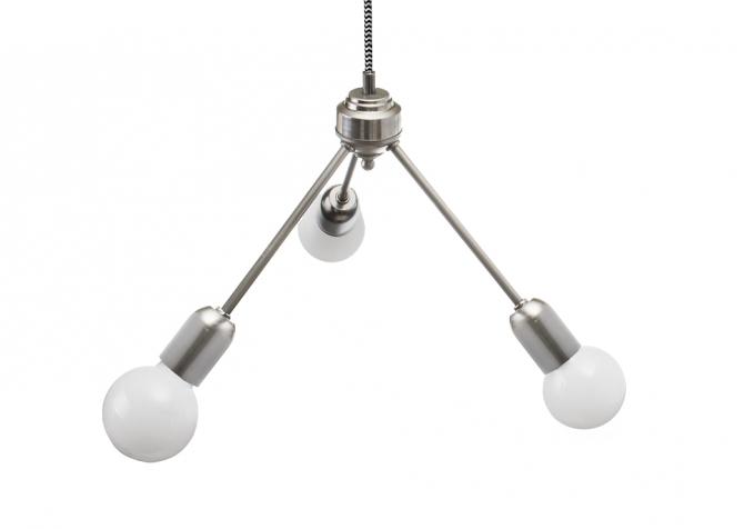 Lampa Trio Surowa Stal