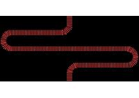 kabel czerwono-czarny