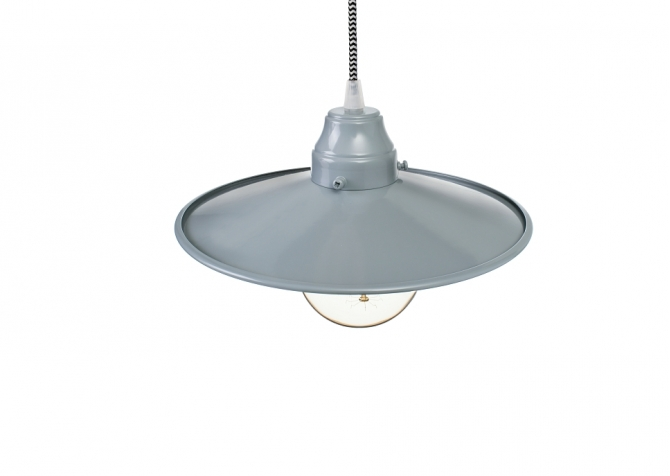 Lampa ByLight Jazz Szary