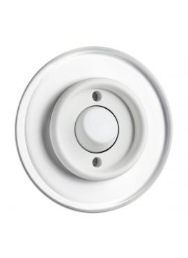 przycisk dzwonek do ramki szklanej THPG PT biały
