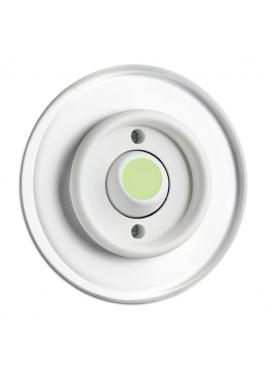 przycisk dzwonkowy do ramki szklanej Lumi THPG PT biały