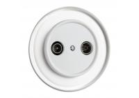 Antenna Socket THPG for glass covering