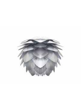 Lampa Silvia steel UMAGE (dawniej VITA Copenhagen) - biel & srebro /Kolor: Srebrny/
