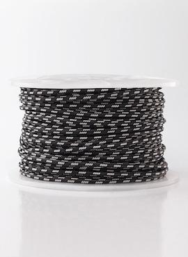 Kabel czarno-srebrny