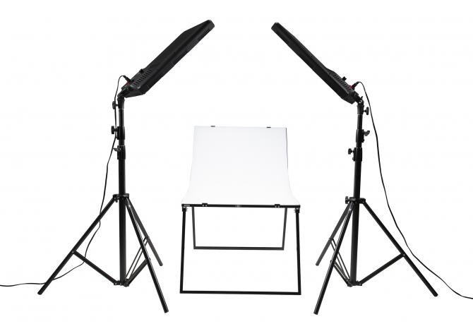 NANLITE Compac 100 2 KIT + T LED Lighting Kit